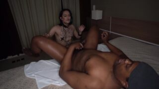 Submissive Brazilian alternative girl Nick Fox fucked hard by horny BBC (0% PUSSY, tapped pussy, Interracial, gapes) OB020